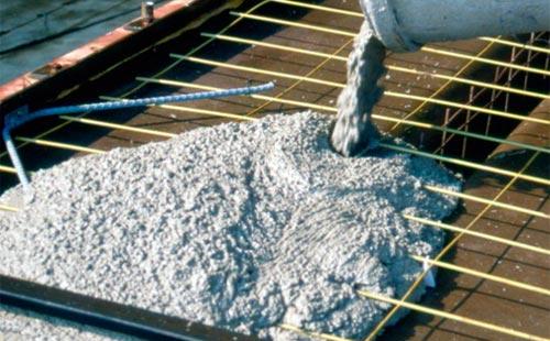 Бетон литье штампованные бетоны